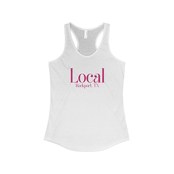 The Local Rockport TX Racerback Tank