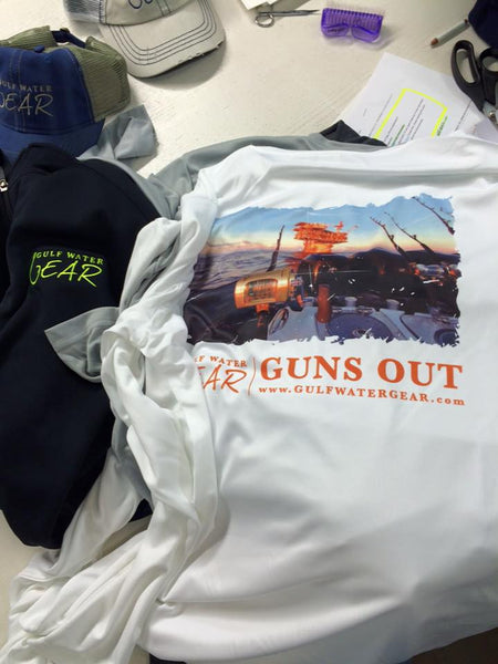 Guns Out (color) L/S LIMITED EDITION