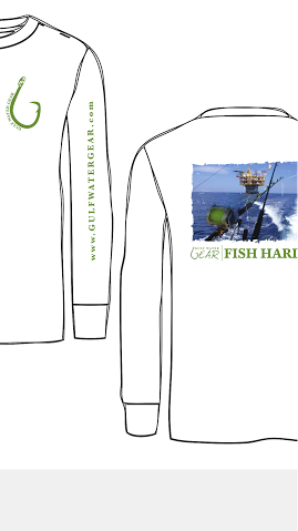 Fish Hard (Color) L/S LIMITED EDITION