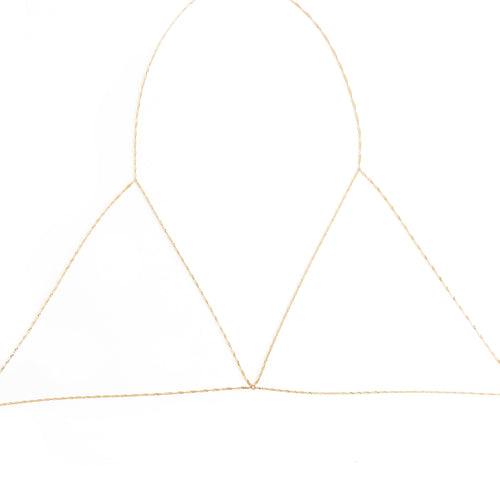 Twisted Bra Chain - C.Dahl Jewelry | ShopCDahl