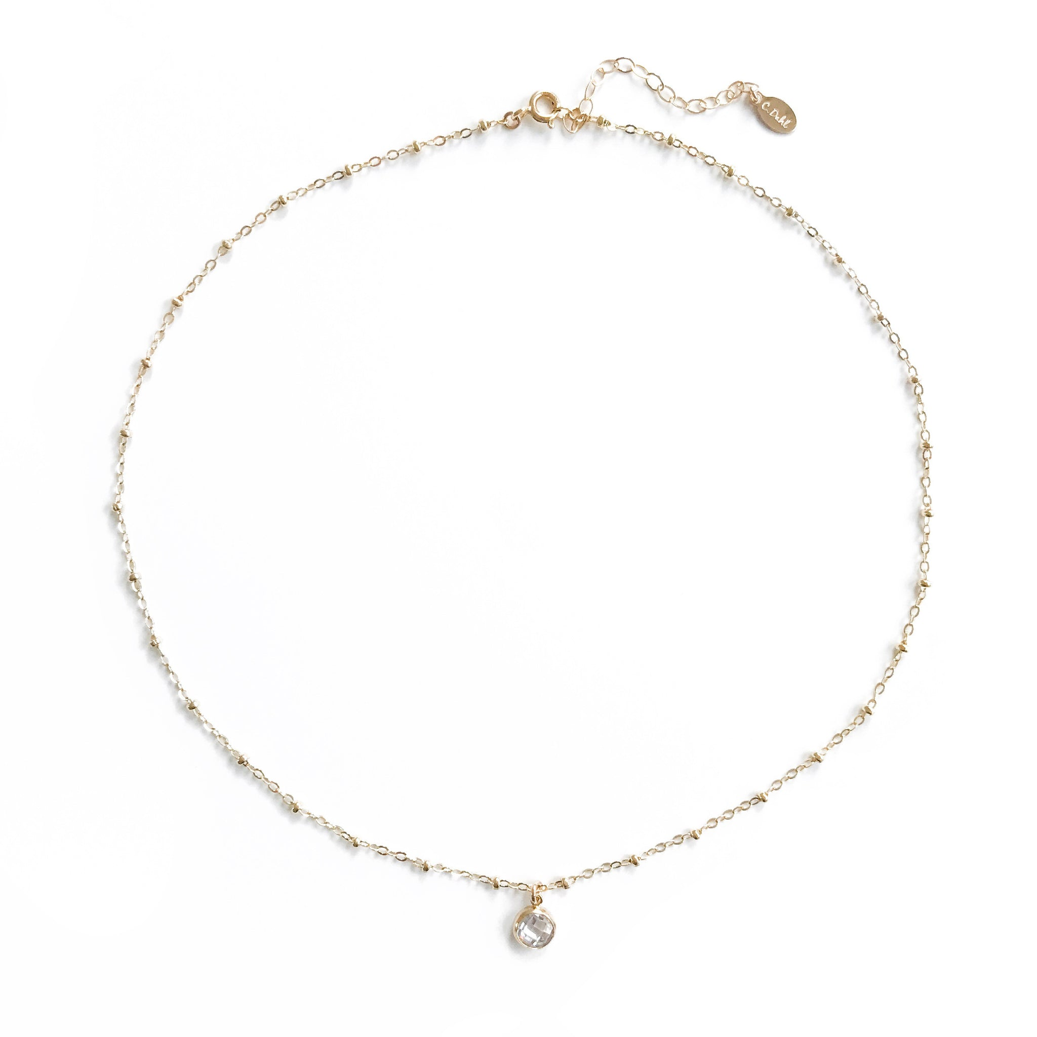 14K Essie Diamond Necklace - C.Dahl Jewelry | ShopCDahl