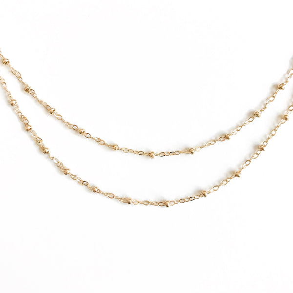 14K Essie Double Choker + Belly Chain - C.Dahl Jewelry | ShopCDahl