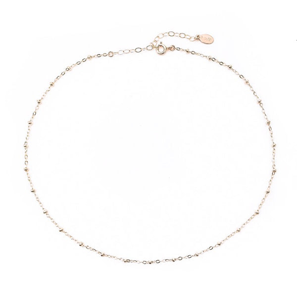 14K Essie Choker Necklace - C.Dahl Jewelry | ShopCDahl