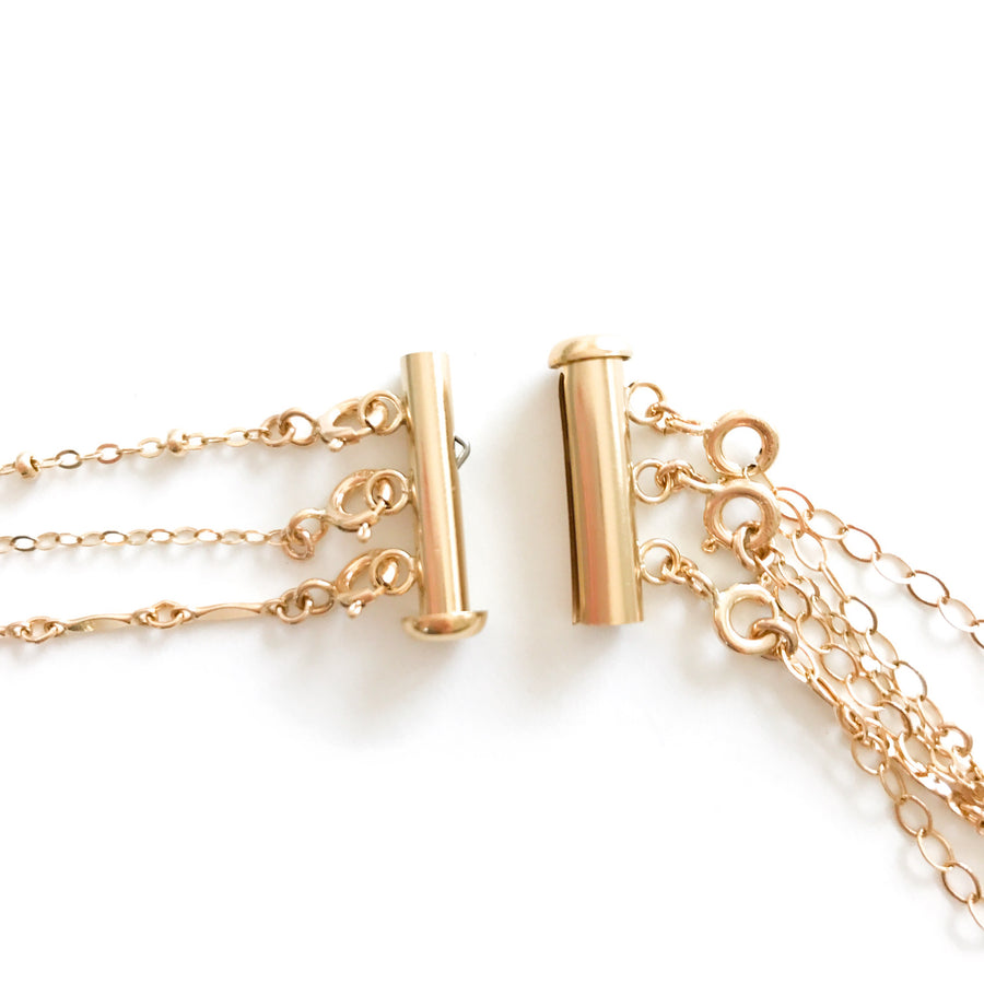 14K Tangle Free Layering Clasp - C.Dahl Jewelry | ShopCDahl