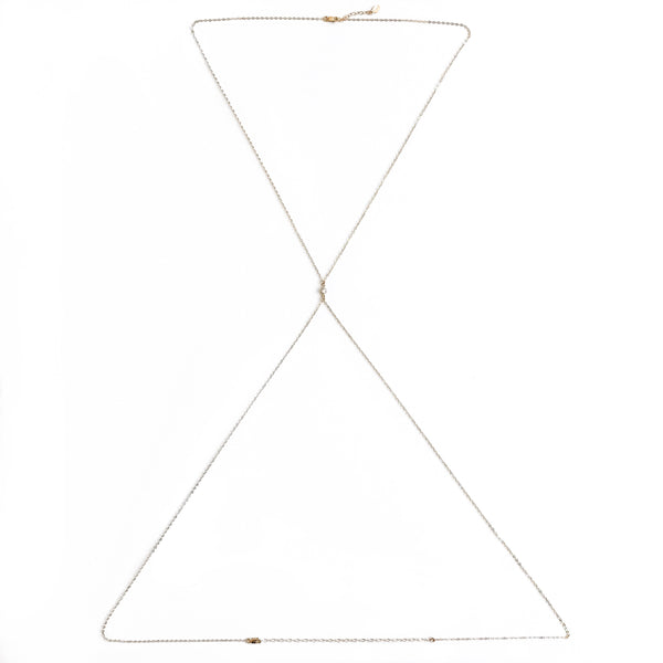 14K Dainty Diamond Body Chain - C.Dahl Jewelry | ShopCDahl