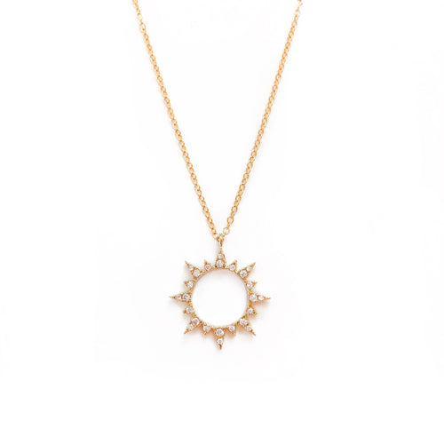 Eternal Sun Necklace - C.Dahl Jewelry | ShopCDahl