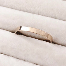 Load image into Gallery viewer, 14K GF Flat Band Ring - C.Dahl Jewelry | ShopCDahl