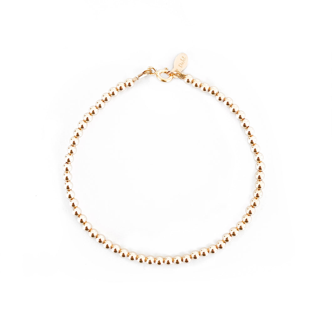 14K GF Beaded Bracelet - C.Dahl Jewelry | ShopCDahl