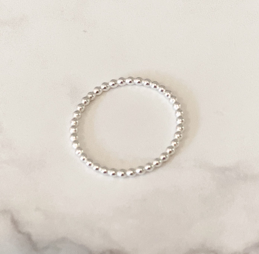 14K GF Hammered Dot Ring - C.Dahl Jewelry | ShopCDahl