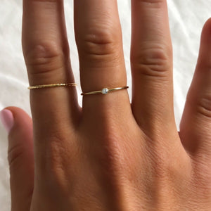 14K Gold Filled Sparkle Ring - C.Dahl Jewelry | ShopCDahl