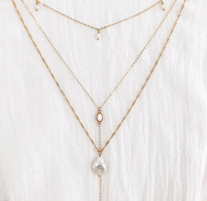 14K Tropez Pearl Necklace - C.Dahl Jewelry | ShopCDahl