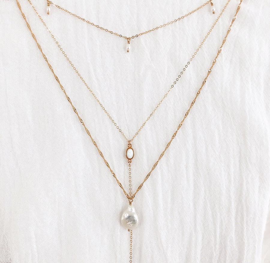 Muse Pearl Necklace - C.Dahl Jewelry | ShopCDahl