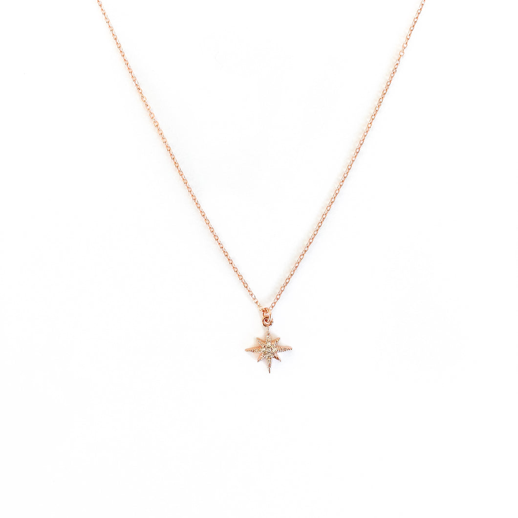 Rose Gold Lani Star Necklace - C.Dahl Jewelry | ShopCDahl