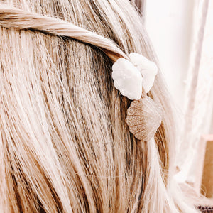 2 Shell Hair Clips - C.Dahl Jewelry | ShopCDahl