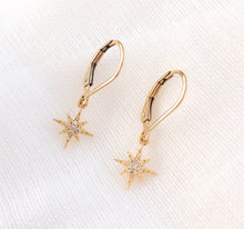Load image into Gallery viewer, 14K GF Sparkly Star Earrings - C.Dahl Jewelry | ShopCDahl