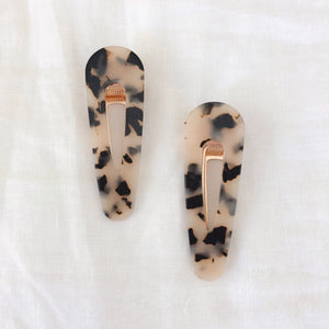 Tortoise Shell Hair Barrette - C.Dahl Jewelry | ShopCDahl