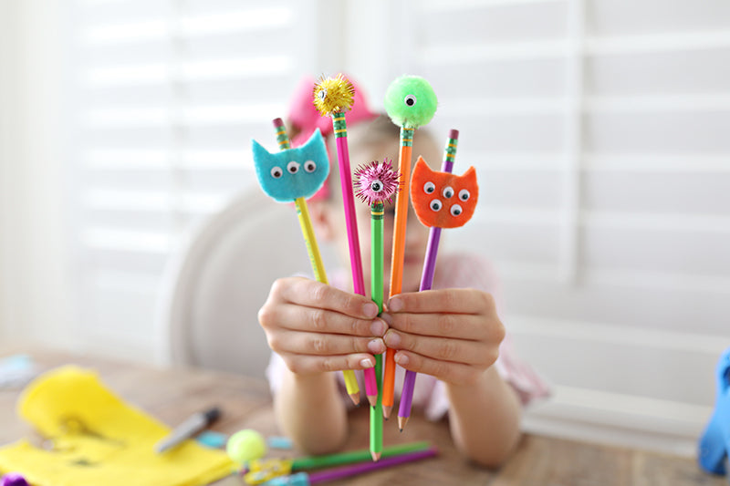 Monster Pencil Craft with Free Book Download