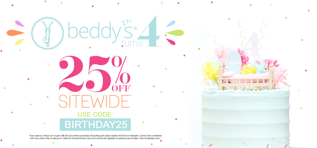 Beddy's 4th Birthday!