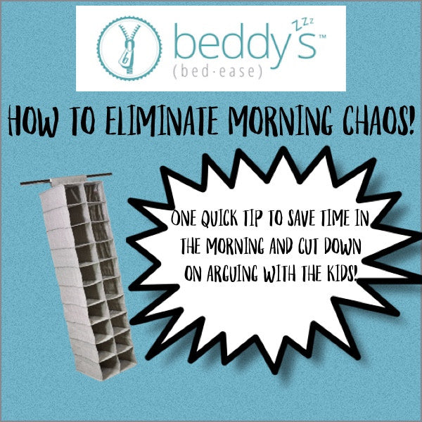 How to eliminate morning chaos!