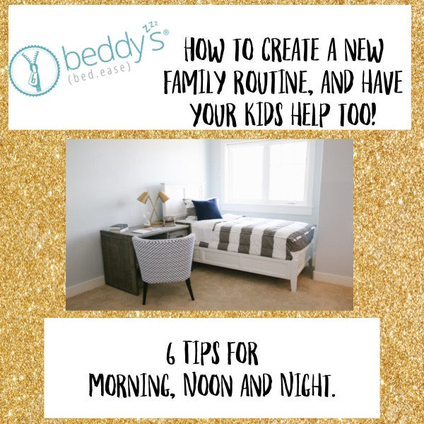 New Year, New Schedule. 6 Tips on How To Organize Your Life and Have Your Kids Help Too!