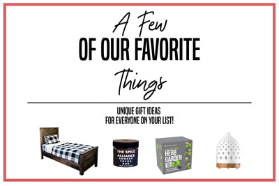 Gift Guide: A Few of Our Favorite Things