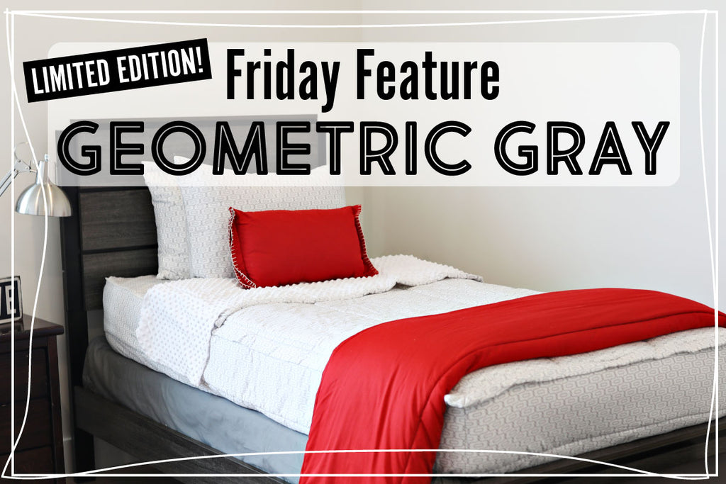 Friday Feature - Geometric Gray *LIMITED EDITION*