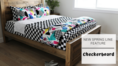 Beddy's Spring Line Feature: Checkerboard