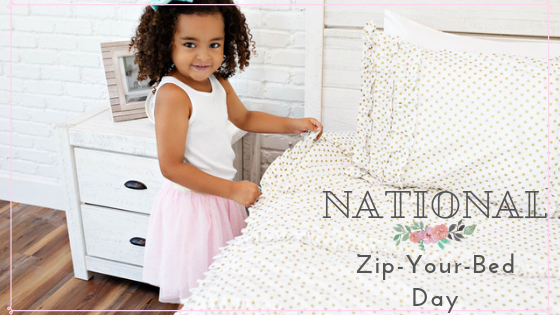 Celebrate National Zip-Your-Bed Day with Beddy's!