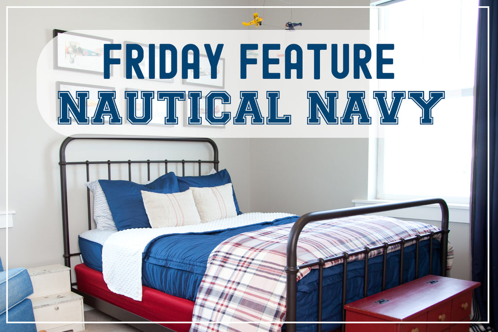 Friday Feature - Nautical Navy