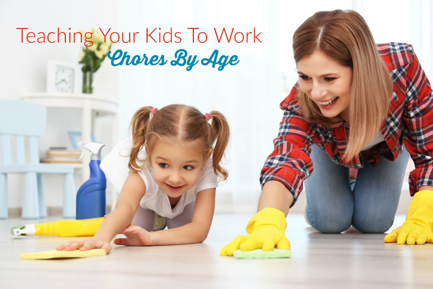 ~GUEST BLOGGER~ Teaching Your Kids To Work