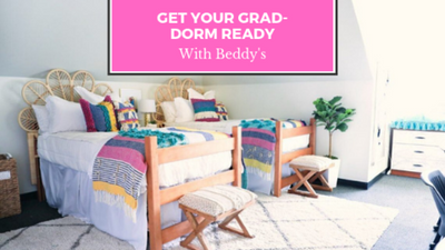 Get Your Grad-Dorm Ready With Beddy's Bed Sets