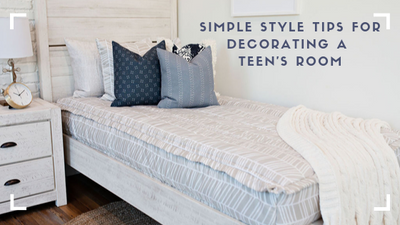 Simple Style Tips For Decorating A Teen's Room