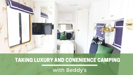 Take Luxury and Convenience Camping—With Beddy's