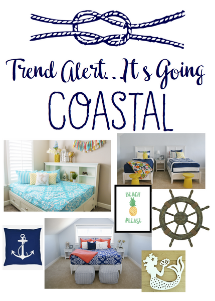 Trend Alert!!!!.... It's Going Coastal!! How to Easily Add Coastal Accents in Your Home.