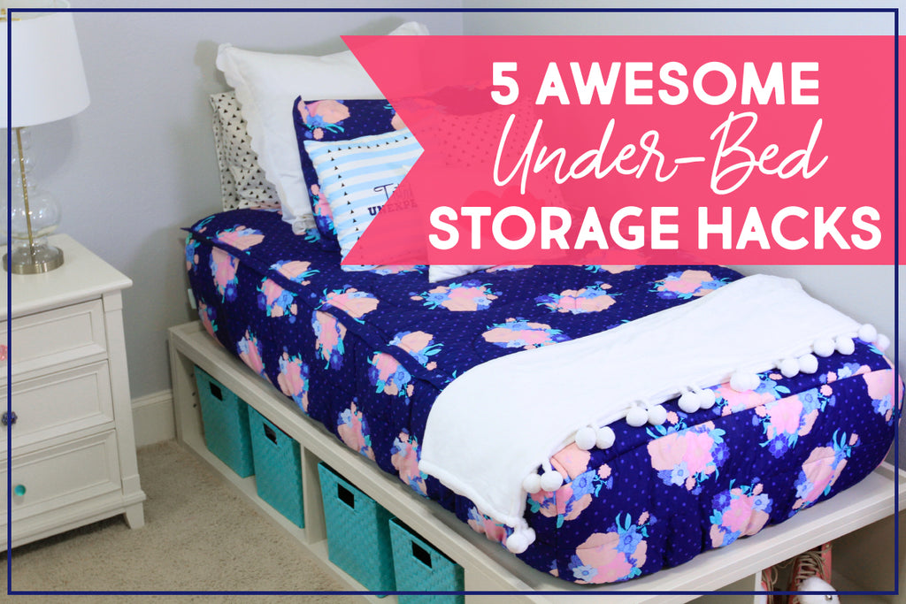 Five Awesome Under-bed Storage Hacks