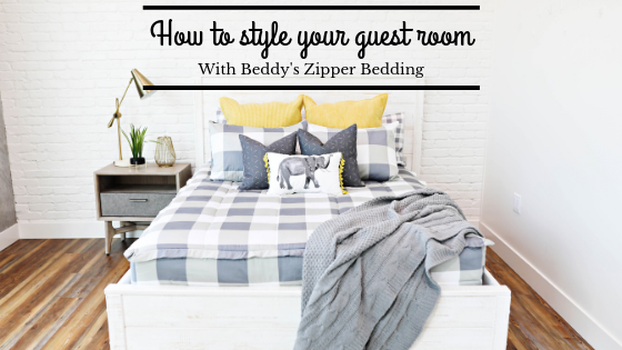 How To Style Your Guest Room with Beddy's