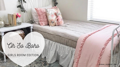 Oh So Boho: Girl's Room Edition