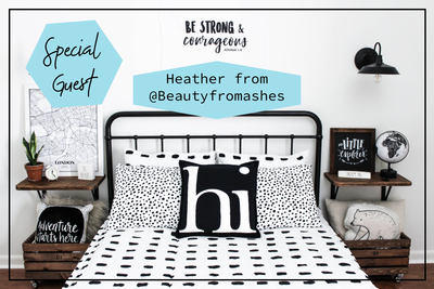 Guest Feature: Heather from @beautyforasheshome