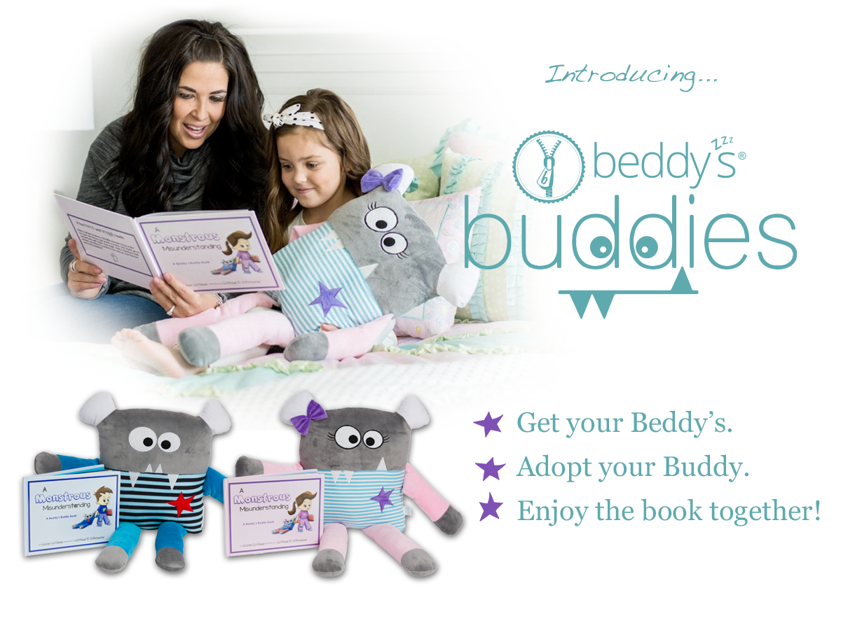 Beddy's Buddies - Zipper Beds - Zip Your Beds