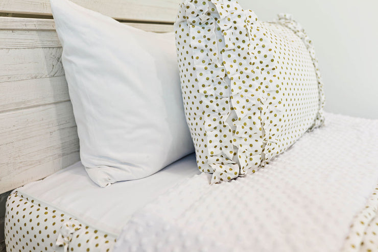 Goldie Dots Sham - Standard Size (Sold out, coming October-November)