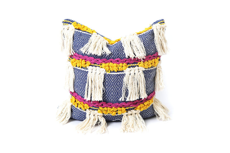 Can't Top Tassels Pillow Cover