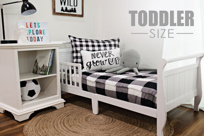 Checked Out Toddler (Minky) (Sold out, coming July-August)