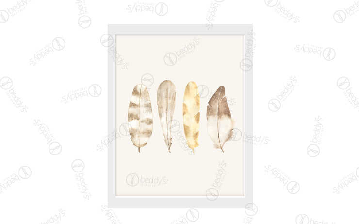 Boho Feathers Artwork Download