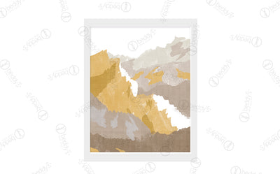 Golden Mountains Artwork Download