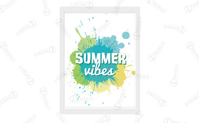 Summer Vibes Digital Artwork Download