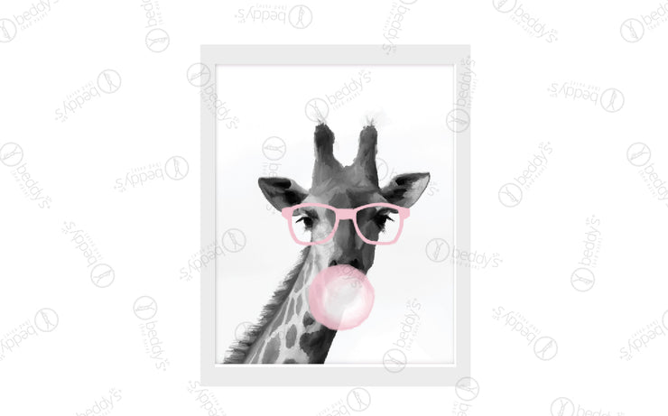 Bubblegum Giraffe Artwork Download