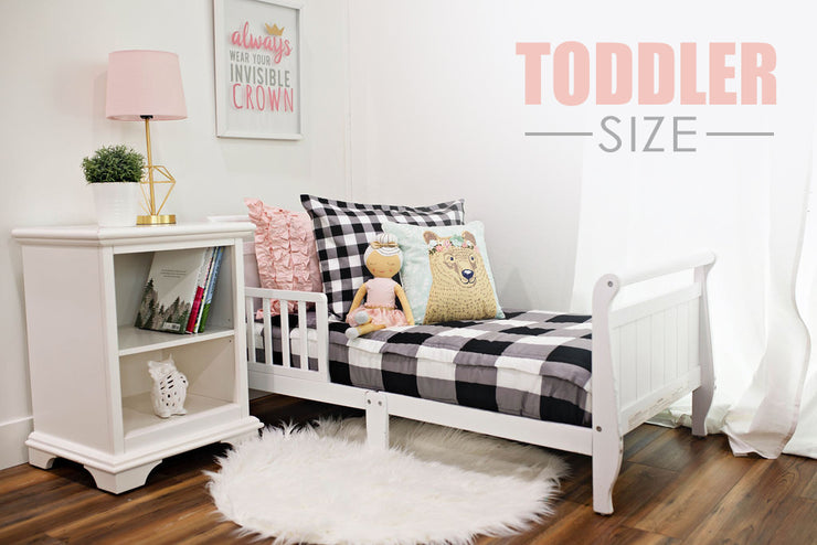 Checked Out Toddler (Minky) - EST. SHIP DATE 8/4-8/18