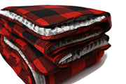 Cozy Cabin Large Blanket
