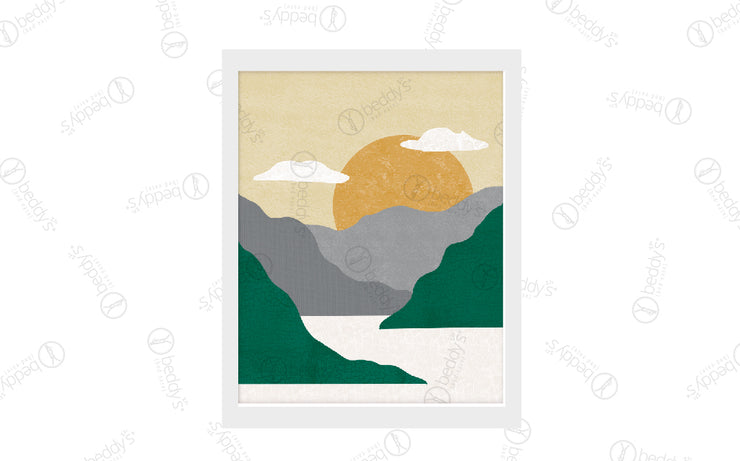 Emerald Mountains Artwork Download