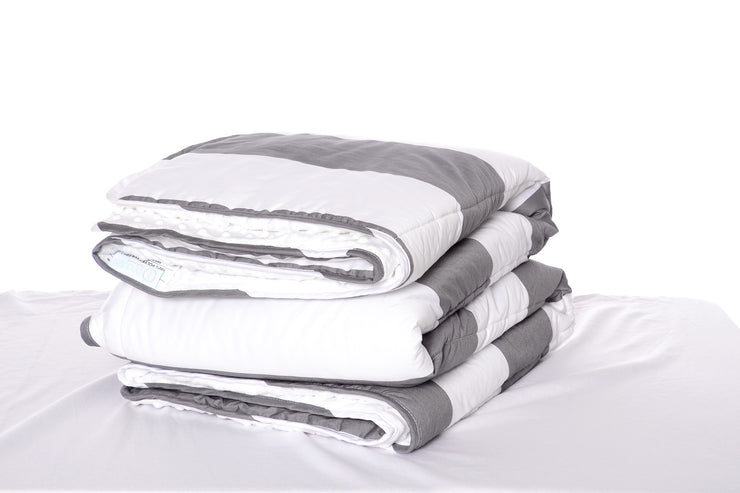 Gray Rugby Blanket - EST. SHIP DATE 8/10-8/24